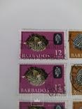 Марки Барбадоса 1965, фото №6