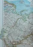 2 карты. Азия. Andrees HandAtlas. 1921 год. 56 на 44 см. (3), фото №8