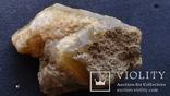 Минерал агат с вкраплениями горного хрусталя 257 грамм, фото №6