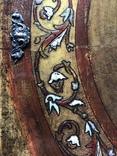 Иисус Христос - спаситель 19 век , с серебряными накладками, фото №5