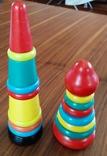 Деревянная пирамидка конструктор ссср, фото №2