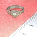 Перстень сердечко 19 век