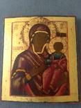 Икона Богоматерь Одигитрия. Конец 18-нач 19 в., фото №3
