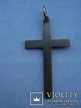Крестик нательный,56 проба, фото №3