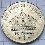 Швеция 1 крона 2003, фото №3