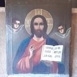 Икона (Спаситель на холсте 70×85 см.), фото №6