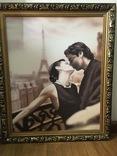 Картина ''Влюбленная пара''. репродукция, фото №3