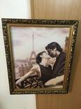 Картина ''Влюбленная пара''. репродукция, фото №6
