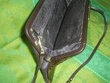 Сумочка-клатч из кожи змеи брендовая Jane Shilton Англия, фото №6
