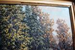 Старая большая картина в раме., фото №5