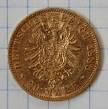 20 марок 1888 года,Фридрих,Пруссия(2), фото №4
