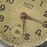 "Часы ""Astin"" золото 750. Швейцария. На ходу., фото №10"