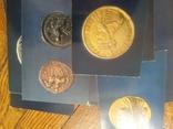 Европейский костюм на монетах.Набор, фото №4