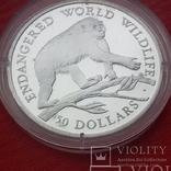 50 $  1990 г. острова Кука., фото №2