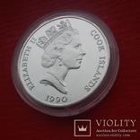 50 $  1990 г. острова Кука., фото №10