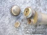 Старовинний бронзовий насос-оббризкувач (номерний), фото №5