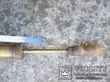Старовинний бронзовий насос-оббризкувач (номерний), фото №7