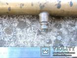 Старовинний бронзовий насос-оббризкувач (номерний), фото №12
