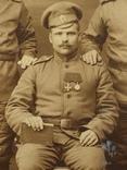 С Георгиевским крестом и медалью, фото №4