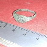 Перстень религиозный 16-17 век