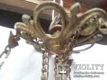 Керосиновая люстра Австро -Венгрия.  №2, фото №3