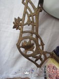 Керосиновая люстра Австро -Венгрия.  №2, фото №7
