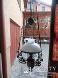 Керосиновая люстра Австро -Венгрия.  №2, фото №9