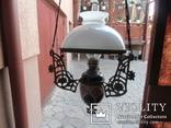 Керосиновая люстра Австро -Венгрия.  №2, фото №11