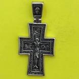 Хрест Срібло 925 проба. 7,63 грама., фото №2