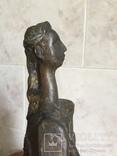 «Дама на стуле». Произведение скульптора Владимира Лемпорта, фото №11