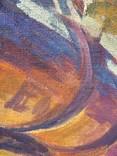 """В.Кнышевский""""На стройках Родины"""", х.м.69*59см, фото №3"""