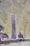 """В.Кнышевский""""На стройках Родины"""", х.м.69*59см, фото №10"""