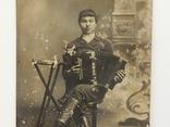 Николай Харитонович Балобан с гармошкой, фото №3