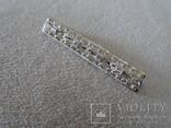 Филигранная брошь. Серебро 835Н., фото №4