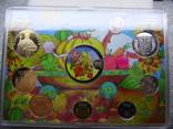 Річний набір обігових монет НБУ 2014 рік , Годовой набор обиходных монет НБУ 2014 год фото 4