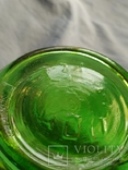 Керосиновая лампа зелёное стекло, фото №7