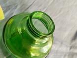 Керосиновая лампа зелёное стекло, фото №9