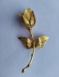 Брошь «Роза» от компании Longcraft линия  GIOVANNI . США. 60-е гг., фото №5