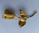Брошь «Роза» от компании Longcraft линия  GIOVANNI . США. 60-е гг., фото №9