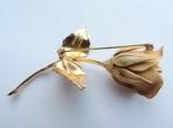 Брошь «Роза» от компании Longcraft линия  GIOVANNI . США. 60-е гг., фото №11