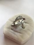 Кольцо серебряное, фото №3
