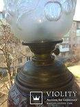 Керосиновая лампа Hugo Schneider, фото №4