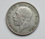 1/2 кроны 1936 г. Великобритания, серебро, фото №2