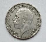 1/2 кроны 1936 г. Великобритания, серебро, фото №6