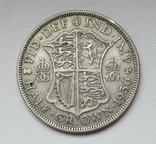 1/2 кроны 1936 г. Великобритания, серебро, фото №11
