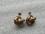 Серьги кольца, фото №5