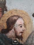 Подписная икона 1781 год. Холст. Масло., фото №7