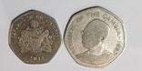 2 монеты Гамбии 1 даласи, фото №3