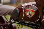 Декали на мотоцикл М1М, М-103, М-104 Минск (качественная копия) переводка малиновый фон, фото №5