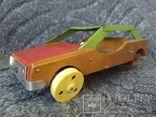 Модель машины дерево метал, фото №2
